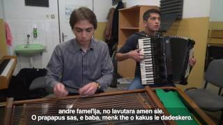 Rómsky magazín -  mladé rómske talenty - konzervatórium J. Adamoviča