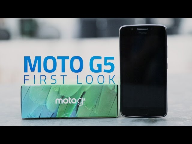 Moto G5 With Metal Body, Android 7 0 Nougat Launched in India: Price