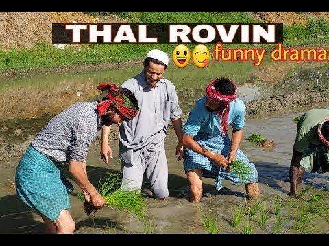 Thal Rovin |Zamindari|Kashmiri Drama|