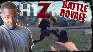 HE CUSSED ME OUT!! - H1Z1 Battle Royale Gameplay