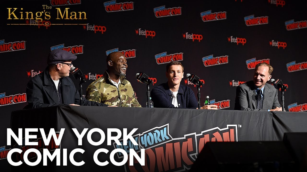 The King's Man - New York Comic Con 2019