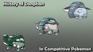 Donphan  - (Pokémon) - How GOOD was Donphan ACTUALLY? - History of Donphan in Competitive Pokemon (Gens 2-6)