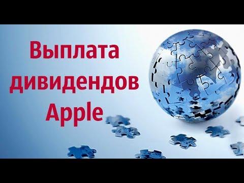 Выплата дивидендов Apple