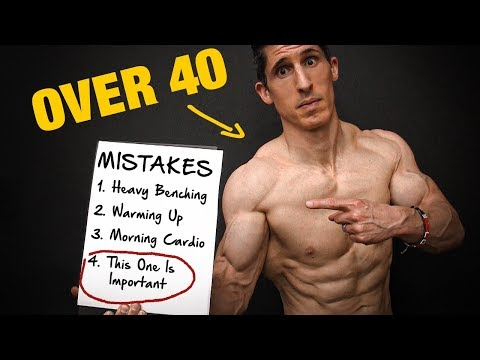 8 Muscle Gaining Mistakes – Men Over 40 (FIXED!!)