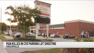 Man who died after being shot at CVS in Greenville Co. ID'd by coroner