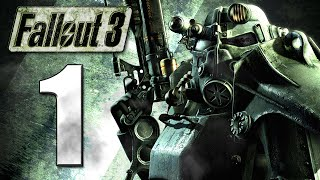 Fallout 3 CZ Lets Play / Gameplay - Part 1 - Vault 101