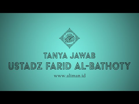 Tanya Jawab : Hukum Menjama' Shalat ketika Acara Walimah? - Ustadz Dr. Farid Al Bathoty, Lc, M.Pd.I.