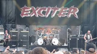 EXCITER Violence & Force [Live 2016 Fall of Summer]