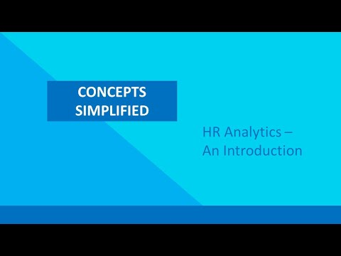 HR Analytics - An introduction - YouTube