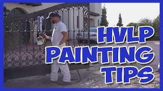 HVLP Sprayers for Cabinets