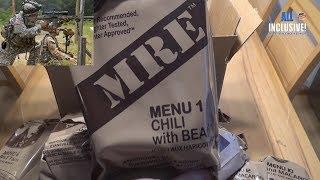 Сухпай Армии США меню 1 MRE USA ARMY Menu 1 Chili with Beans ИРП