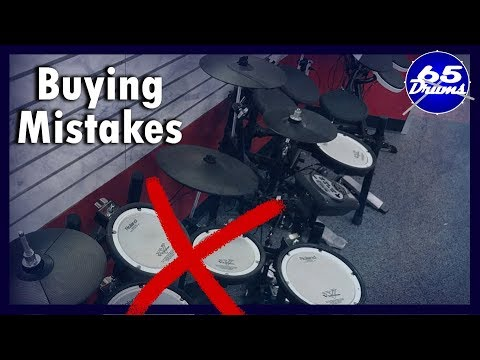 5 Buying Mistakes New Edrummers Make
