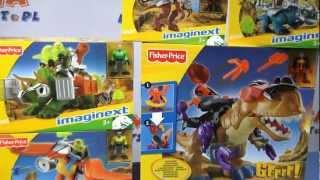 Gambar cover Dino / Kolekcja Dinozaurów - Imaginext - Fisher Price - Mattel -  www.MegaDyskont.pl