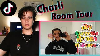 "Charli D'Amelio ""Surprise Room tour""  
