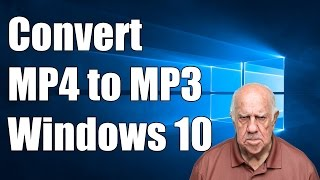 How To Convert  To Mp3 In Windows 10