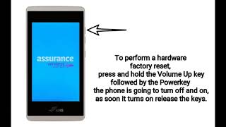 ANS UL40 AND 50 FACTORY RESET