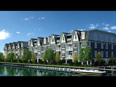 2016 Smart Growth Award Winner Transit Oriented Development <br>Marina Pointe East Rockaway