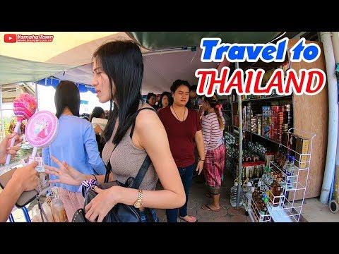 Hur man reser Thailand billigt ▶ Mat och nattlivserfarenheter i Mukdahan