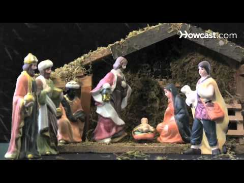 How to Arrange a Nativity Scene