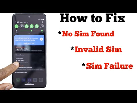 How to Fix No SIM Found, Invalid SIM, Or SIM Card Failure Error on Android
