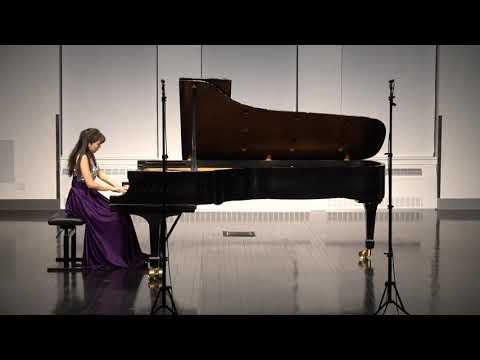 Jingci Liu plays Debussy Suite Bergamasque, I Prelude