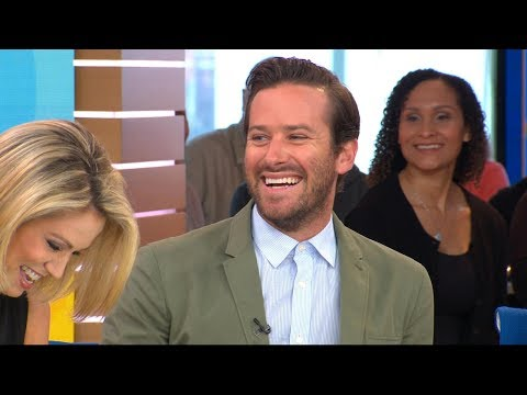 Armie Hammer admits his daughter prefers 'Moana' over 'Cars 3'