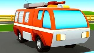 Camiones de bomberos - La Escuela de Autos