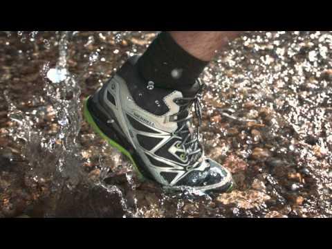 8278bb45272 Merrell Capra Bolt Mid Waterproof Light Trail Shoes - Men's