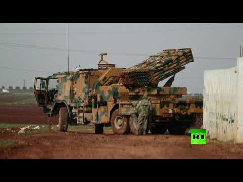 العرب اليوم - شاهد: منظومات الصواريخ التركية تطلق النار