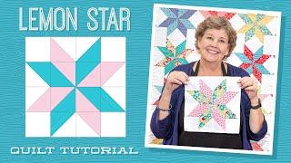 Make A Lemon Star Quilt With Jenny Doan Of Missouri Star (Video Tutorial)