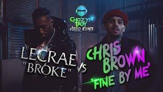 "Lecrae ""Broke"" vs Chris Brown ""Fine By Me"" Music Video Remix/Mashup"