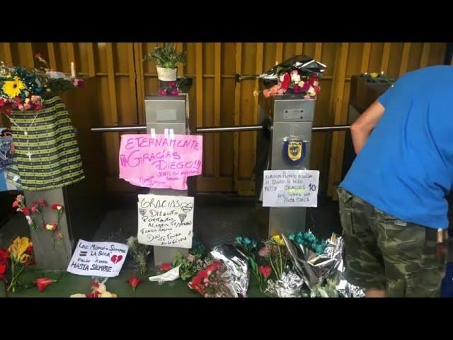 Argentina de luto por la muerte de Diego Maradona