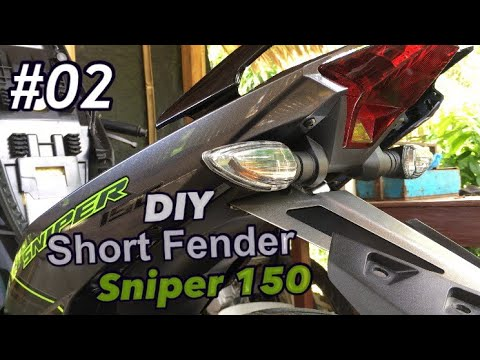 Download Short Fender For Sniper 150 Video 3GP Mp4 FLV HD Mp3