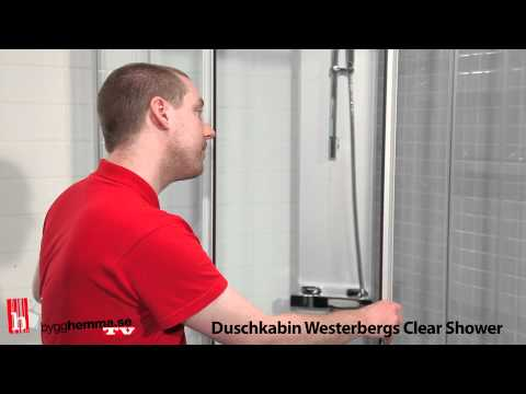 Duschkabin Westerbergs Clear Shower