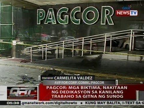 [GMA] QRT: Panayam kay Carmelita Valdez, AVP for Corp. Comm., PAGCOR