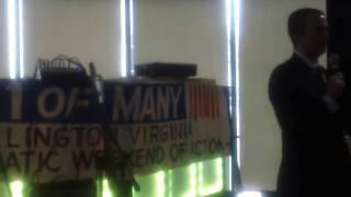 Ralph Northam Speaks to Arlington Dems (1/22/17)