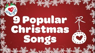 Top 9 Christmas Songs and Carols with Lyrics - Download this Video in MP3, M4A, WEBM, MP4, 3GP
