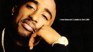 2pac - Keep ya head up (Baby don't cry)