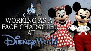 Working As A Face Character At Disney World Creepypasta