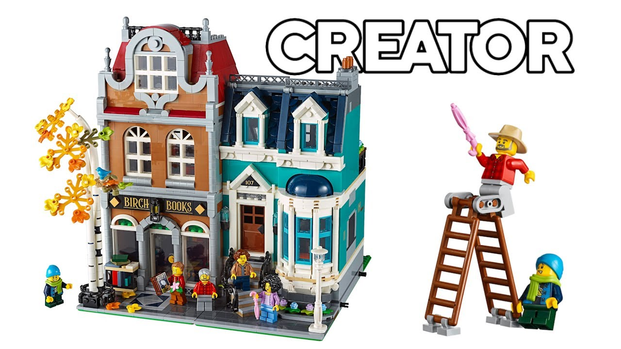 LEGO Creator Buchhandlung (10270) - Speed build