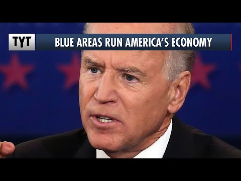 Pro-Biden Counties Make Up 70% Of The US Economy