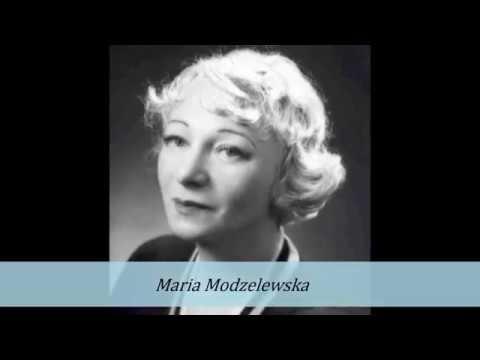 JAŚMINOWY WALC- MARIA MODZELEWSKA 1934!