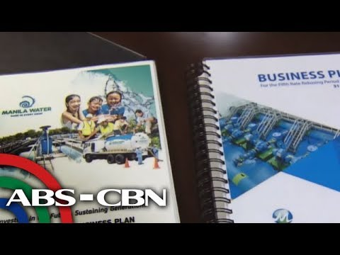 [ABS-CBN]  Business Nightly: MWSS to publish water rate hike petitions