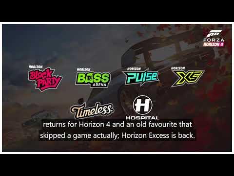 Features Preview de Forza Horizon 4