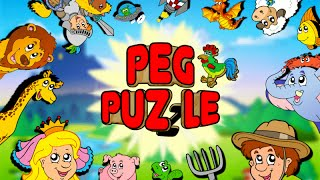 Peg Puzzle: Shape Puzzles for Kids - App Gameplay Video