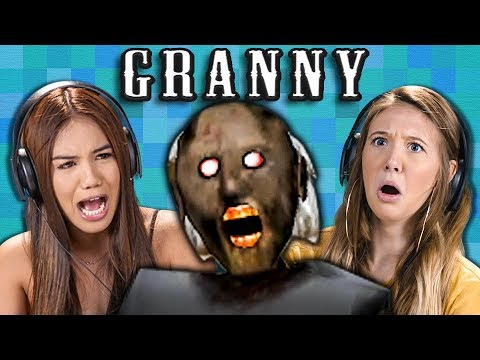 Granny | Horror Game (Teens React: Gaming)