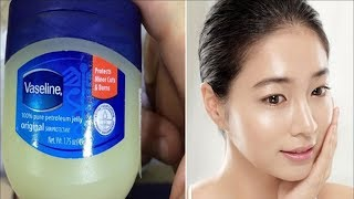 No Wrinkles On Face - Just Using Vaseline. You looks 10 Years Younger And Beautiful! Look Here