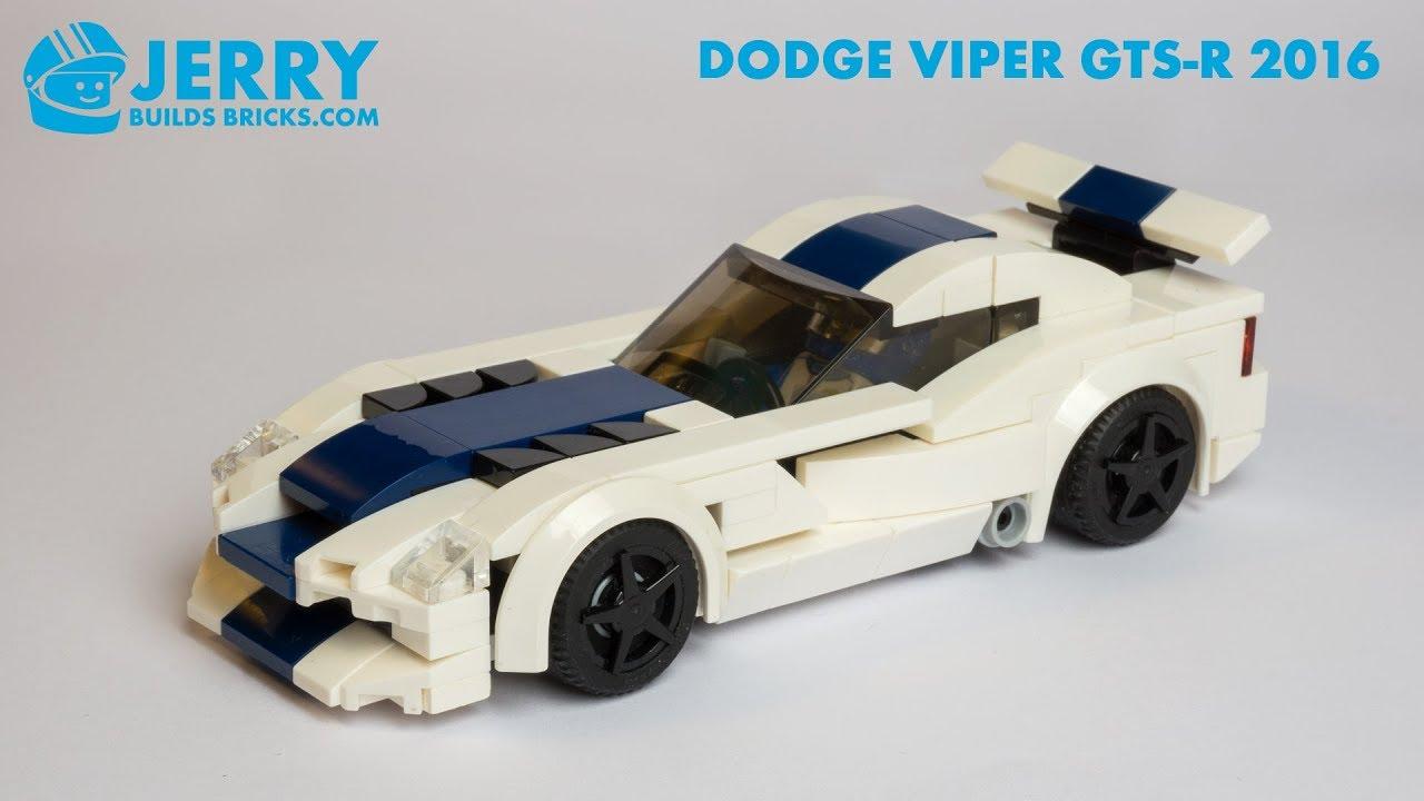 LEGO Dodge Viper GTS-R 2017 instructions (MOC #110)