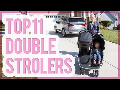 11 Best Double Strollers 2016 & 2017