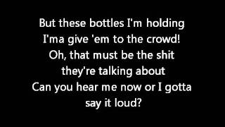 Chris Brown - 100 bottles (Lyrics on screen) karaoke  Boy in detention